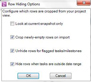 Row Hiding Options