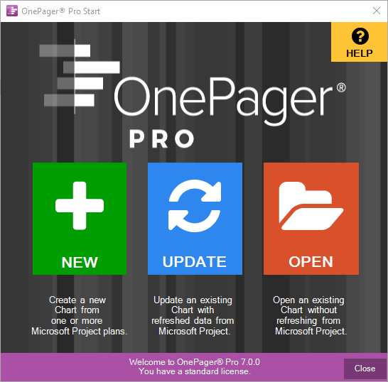 Project Portfolio Views Onepager Pro