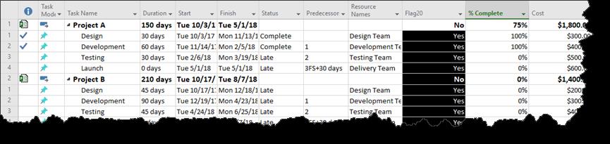 timeline software microsoft